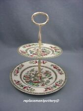 Johnson Brothers Indian Tree 2 tier cake stand.
