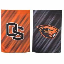 OREGON STATE UNIVERSITY House Flag,  Imprinted Suede by Evergreen