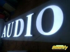 led frontlit business signage sign letters advertising banner outdoor customized