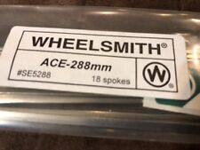 NEW Wheelsmith ACE-288mm Blade Spokes Bag of 18