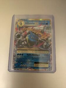 Pokemon Mega Blastoise EX XY Evolutions 22/108 Ultra Rare Holo NM
