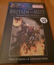 Ultimate Graphic Novels Collection Marvel Captain Britain and MI13 Issue 53