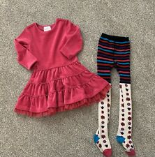 Hanna Anderson Dress And Tights