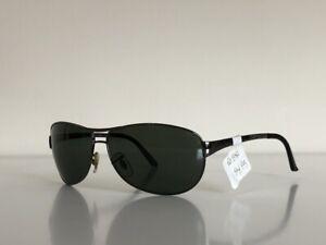 Ray Ban RB 3342 004/58 Warrior Aviator Gunmetal Gray Frame Sunglasses 60-12 3P