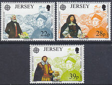 JERSEY MNH UMM STAMP SET 1992 SG 584-586 EUROPA COLUMBUS DISCOVERY OF AMERICA