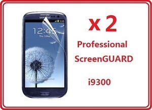 2X Samsung i9300 Galaxy S3 III LCD Screen Protector Ultra Crystal Clear Film