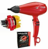 DENTED BOX NEW! RED BABYLISS PRO NANO TITANIUM VOLARE V1 FERRARI HAIR BLOW DRYER