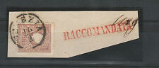 FRANCOBOLLI 1859 LOMBARDO VENETO 10 SOLDI VENEZIA 16/1 A/10765