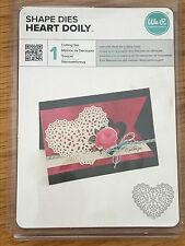 We R Memory Keepers HEART DOILY Cutting Die NEW Doilies
