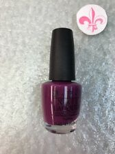 OPI Nail Polish Lacquer Nagellack 'Pamplona Purple' NEW Full Size