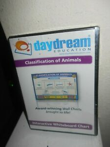 Daydream Education Classification Of Animals Interactive Whiteboard Chart New