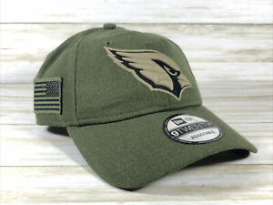 Arizona Cardinals Salute To Service Hat NFL New Era One Size Fits Most Dad Hat