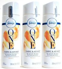 (3) Febreze One Fabric And Air Mist - Mandarin 10 oz