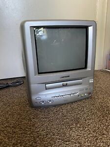 """Sansui CDVD9000S 9"""" CRT TV DVD Player Combo Great For Gaming Working Portable"""