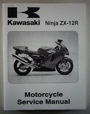 Workshop Manual Kawasaki Ninja ZX-12R From 10/2000