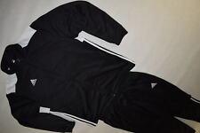 Adidas Trainings Anzug Track Jump Suit Sport Jogging Athleisure Schwarz 2XL XXL