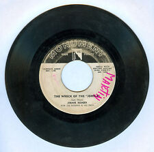 """Philippines JIMMIE RODGER/JERRY BUTLER The Wreck Of The """"John B"""" 45 rpm Record"""