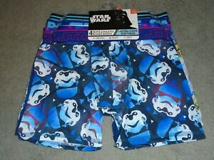 STAR WARS 4-Pack Athletic Boxer Briefs Boys Size 10 - Stretch Fabric Ultra Cool
