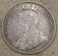 Canada 1912 25 Cents Decent Mid-Better Grade Coin