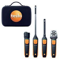 Testo 0563 0003 VAC Set Smart & Wireless Probe Kit, 405i, 410i, 605i, 805i, Case