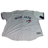 Men's Toronto Blue Jays Majestic White Home Cool Base Jersey MLB Baseball XXXXL