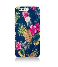 Coque Huawei P smart Ananas Fleur rose Tropical Exotique hawaii aloha