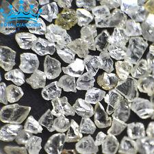 5 crts+ 100% Natural Loose Rough Diamonds Real Flat shape White FL-SI 2.00mm