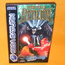 VINTAGE 1995 SEGA SATURN VIRTUAL HYDLIDE VIDEO GAME PAL & FRENCH SECAM VERSION