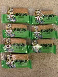Pack of 7 Bobo's Oat Bars - All Natural - Coconut - 3 oz Bars SEALED EXP 08/2021