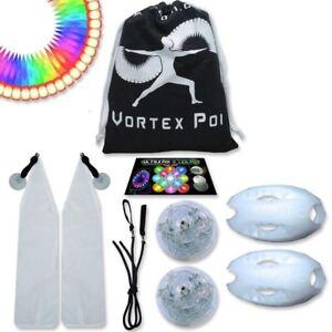 UltraPoi - Vortex Poi - Multifunction LED Glow Poi - LED Poi