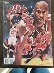 Michael Jordan legends sports commemorative issue