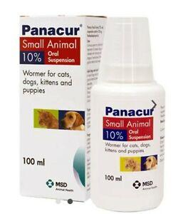 Panacur 100ml Suspension Dog Puppy Wormer The Best