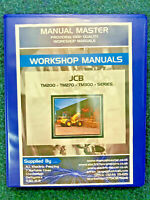 JCB TM200 TM270 TM300 Service Repair Workshop Manual - FULLY PRINTED - FREE POST
