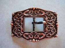 """Western COPPER CART Buckle  3/4"""" Berry and Star"""