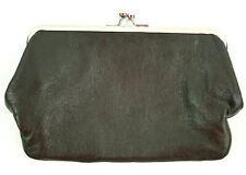 Beth Springer $79 Hand Made in Santa Monica Genuine  Leather Clutch Wallet NWT