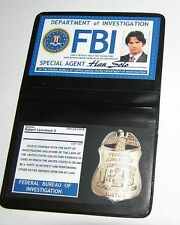 Lot 2 Badges pour cosplay Badge FBI Cosplay Supernatural FBI id wallet lot