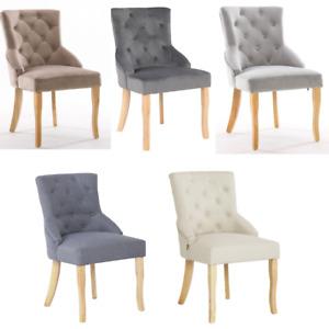 Accent Chair Dining Chairs Linen Velvet Home Commercial Restaurant