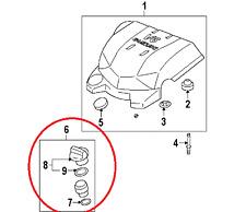 Suzuki XL7 07-09 3.6L Oil Filler Cap ,Tube & O-Rings New Original Equipment