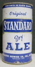 1950's Standard Dry Ale Flattop Can - Rochester, Ny - Empty