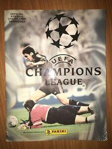Panini Champions League Football 2000-2001 sticker album 94% complete (286304)