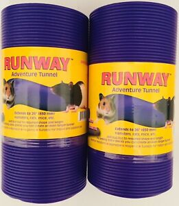 SNUGGLE SAFE ALL WEATHER FLEXIBLE TUNNEL 650mm HAMSTERS, RATS, MICE X2 TWIN PACK