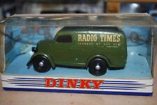 Dinky Diecast 1/43 DY-4 FORD E83W 10 CWT VAN RADIO TIMES