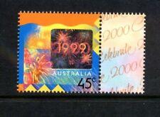 1999 Australia - Celebrate 2000 with tab  (1) MUH