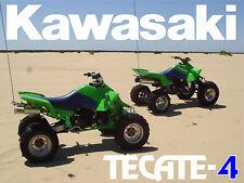 Nice Kawasaki Tecate 4 KXF250 4-wheeler 18 x 24 poster     KXF 250 tecate-4