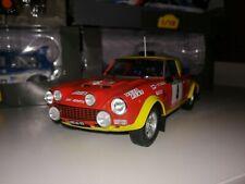 Coche Rally Fiat 124 Abarth 1:18 Altaya
