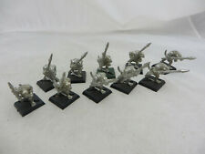 Warhammer Lizardmen Seraphon Saurus warriors army lot metal oop