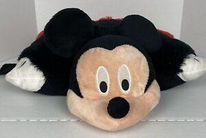 "Mickey Mouse Pillow Pet Large 18"" Walt Disney Stuffed Animal Plush Toy"