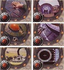 Stargate Season 4: Dial Us Home   Chase Set D1-D6  6 CARD SET
