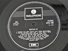 THE BEATLES VI UK Export One Box EMI CPCS 104 Stereo LP. Rare!!