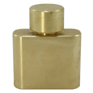 Hip Flask brass sequential discovery puzzle